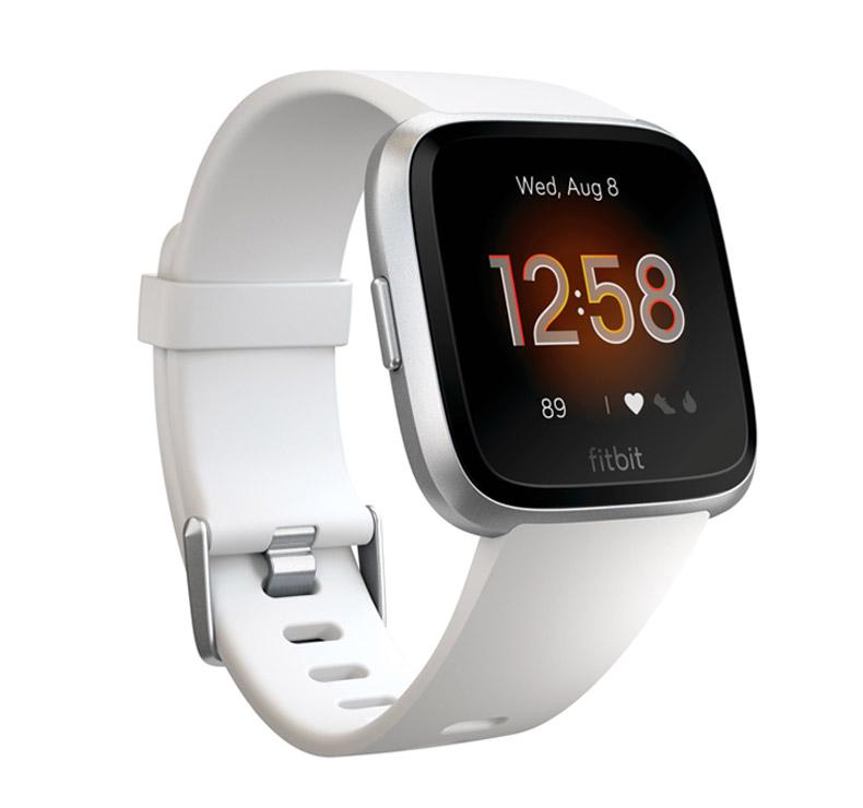 Reloj Fitbit Versa Lite Blanco/Aluminio plateado