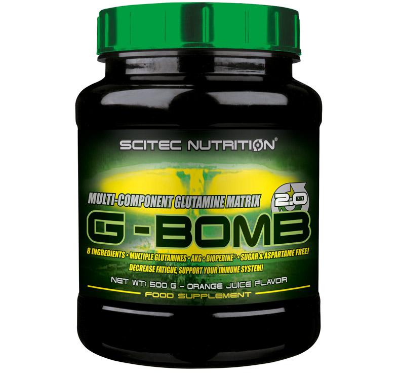 Scitec Nutrition G-Bomb 2.0 - 500gr - Zumo de naraja
