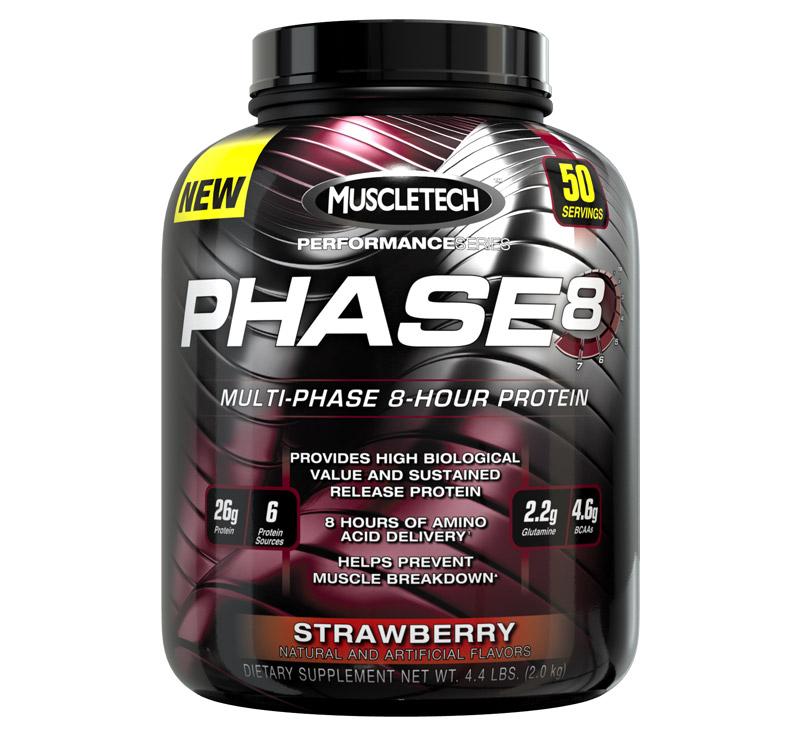MuscleTech Performance Series Phase 8 - 2.1kg - Fresa