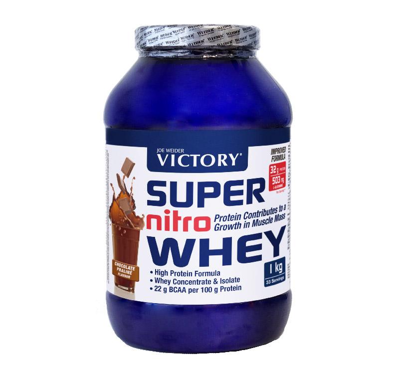 Victory Super Nitro Whey - 1kg - Choco-Praliné