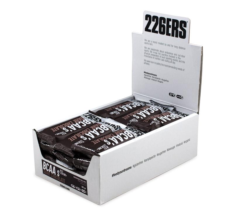 226ERS Endurance Fuel Bar BCAAs Bar - 24 x 60gr - Chocolate negro