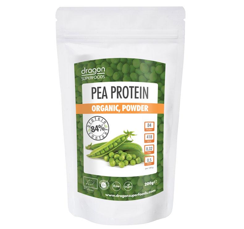 Dragon Superfoods Proteína de guisantes-200gr