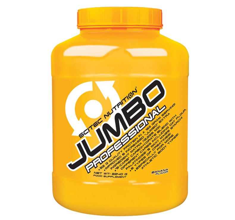 Scitec Nutrition Jumbo Professional - 3.24kg - Plátano