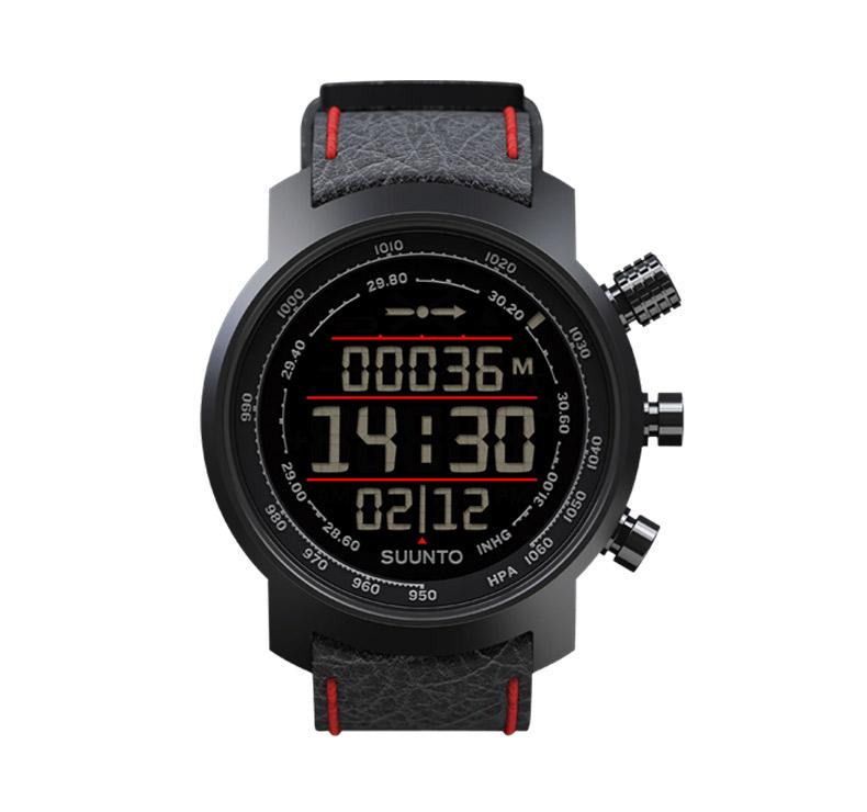 Reloj Suunto Elementum Terra Black/Red Leather