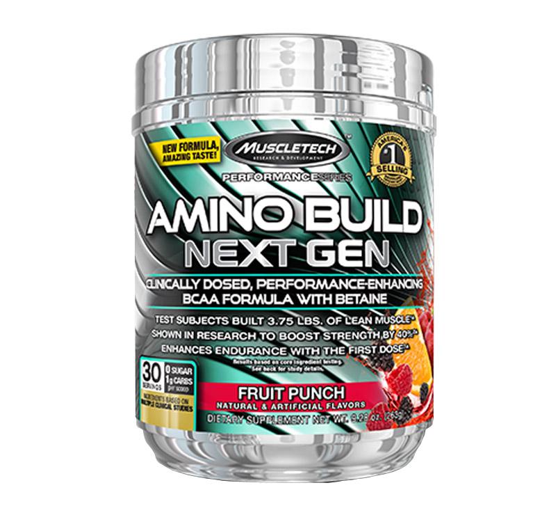 MuscleTech Amino Build Next Gen - 276g - Fruit punch