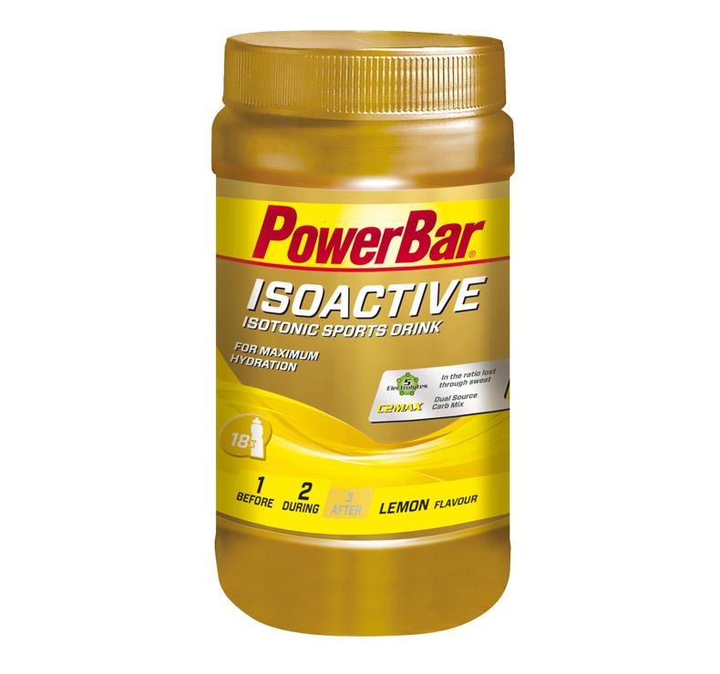 PowerBar Isoactive - 600 gr - Limón