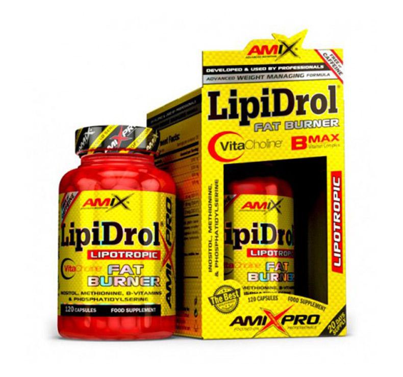 Amix Pro Series Lipidrol Fat Burner - 120 comprimidos