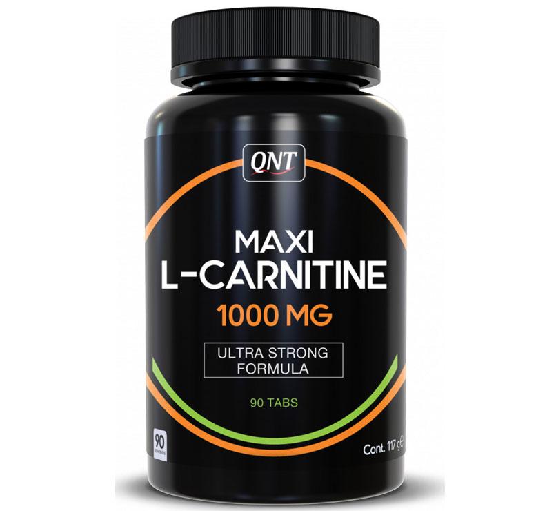 QNT Maxi L-Carnitine 1000mg - 90 tabs
