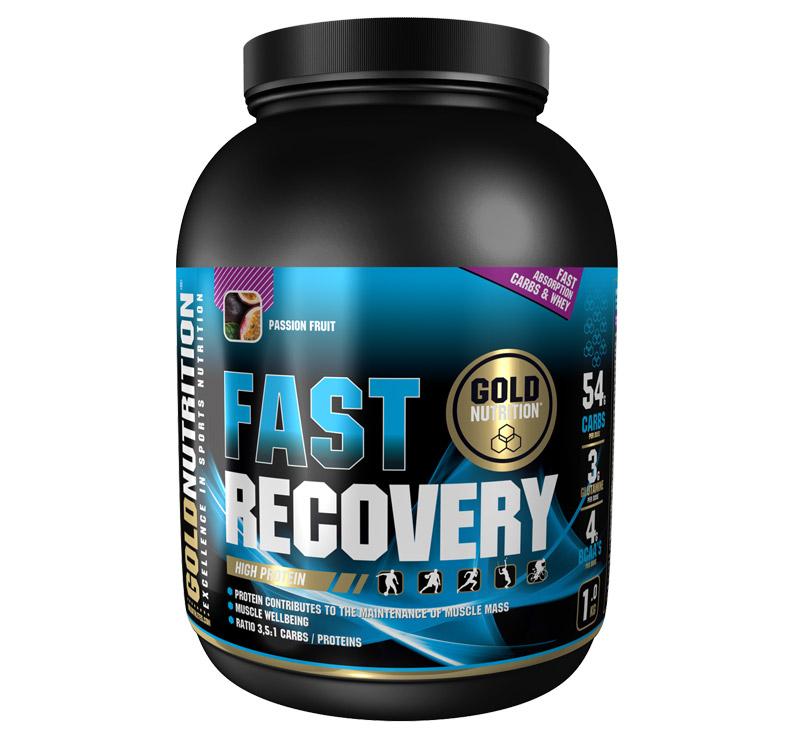 GoldNutrition Fast Recovery - 1kg - Maracuyá
