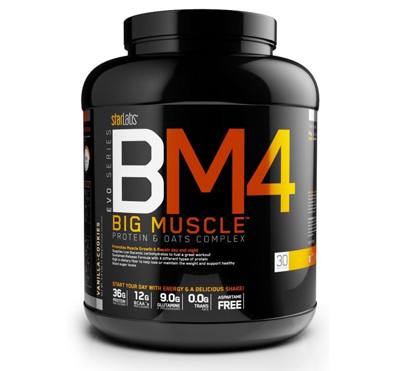 StarLabs BM4 Big Muscle - 2kg - Plátano