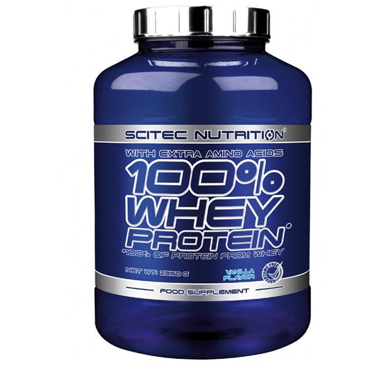 Scitec Nutrition 100% Whey Protein - 2.35kg - Vainilla