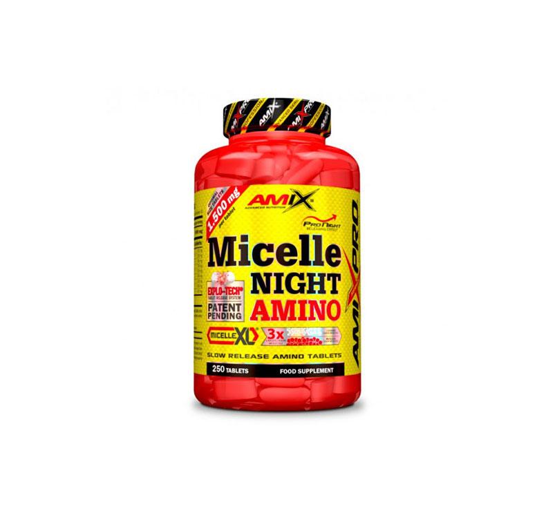 Amix Pro Series Micelle Nigth Amino - 250 comprimidos