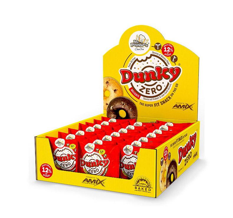 Amix Dunky Zero® 20 x 70gr - Black Cookie- Chocolate negro