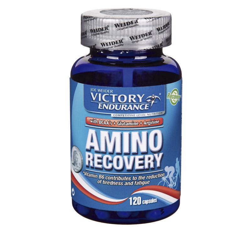 Victory Endurance Amino Recovery (BCAA+Glutamina+Arginina) - 120 cápsulas