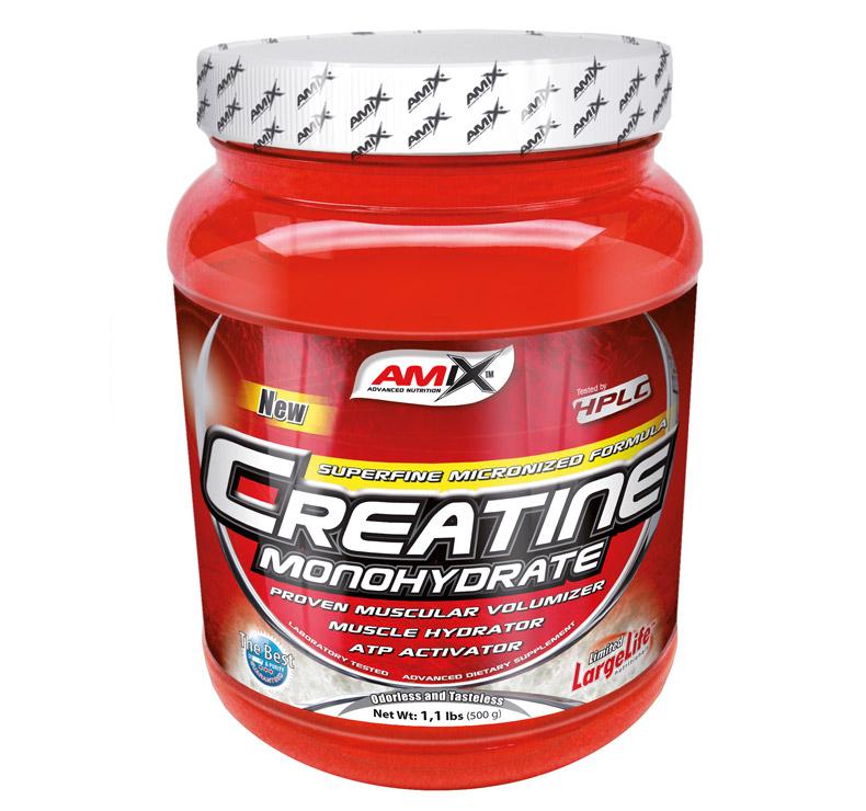 Amix Creatine Monohydrate 500gr + 250gr Gratis